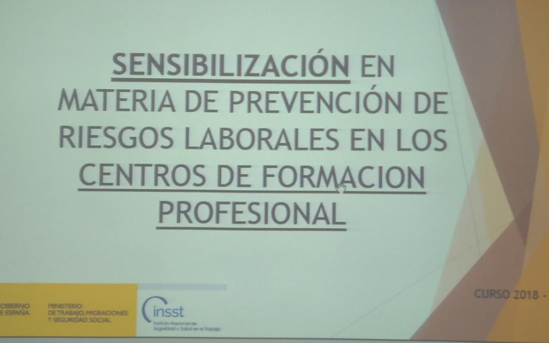 Programa Sensibilización PRL en CPIFP PROFESOR JOSÉ LUIS GRAIÑO
