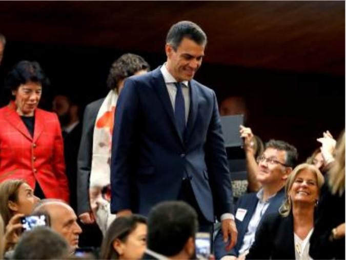 «+Futuro+Progreso = +FP. La educación que desarrolla el talento».        El Presidente Pedro Sánchez recibe a los Directores y Directoras de todos los Centros de FP del país.