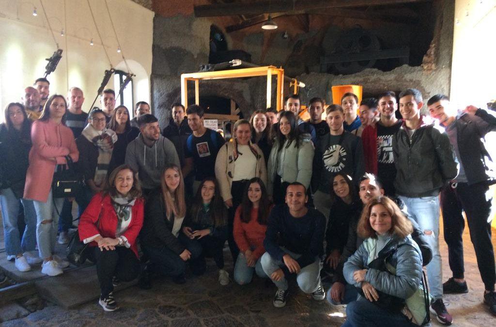 Nuestros alumnos visitan Minas de Riotinto